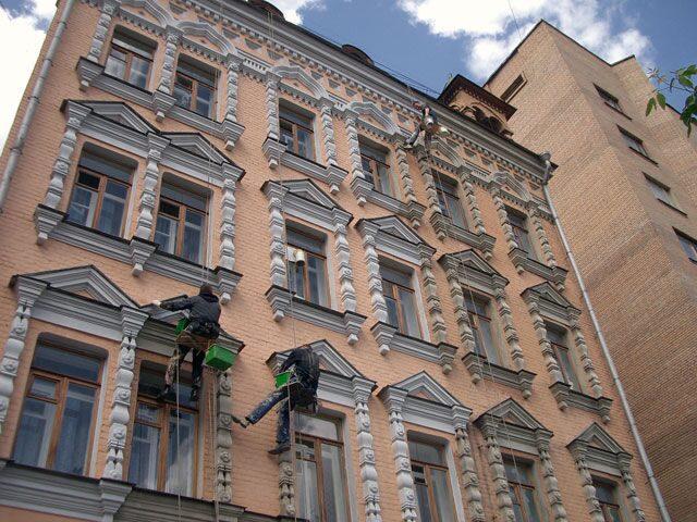 Аппараты для покраски фасадов