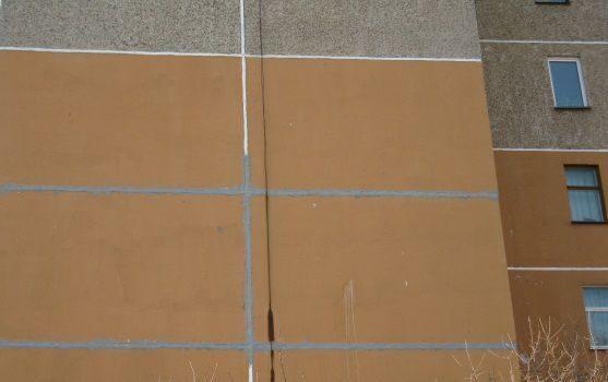 Заделка швов на потолке в гараже
